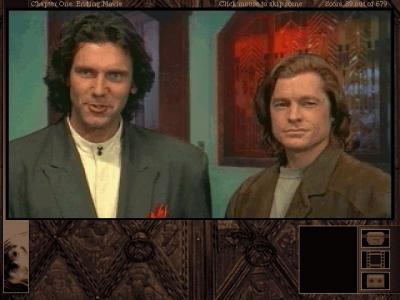 A Gabriel Knight mystery yra adventure žanro žaidimas, pasakojantis ir apie kompozitorių Richardą Vagnerį bei paskutinįjį Bavarijos karalių Liudviką II (paveikslėlyje - žaidimo herojai Gabrielius Naitas ir grafas Fon Glaueris, vaidinami aktorių).