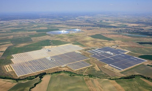 Didžiausia pasaulio saulės jėgainė