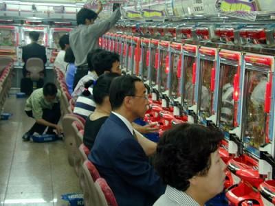 Pačinko - tradicinis japonų elektroninis lošimas iš pinigų