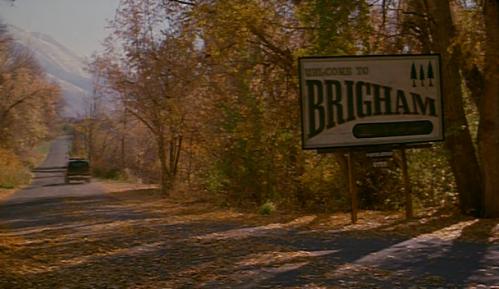 """Brihamas iš filmo """"Brihamo miestas"""" - eilinis idiliškas miestelis retai gyvenamose mormoniškose Jutos priekalnėse"""